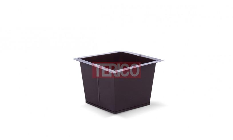 Ящик металлический окрашенный 240х240х235h