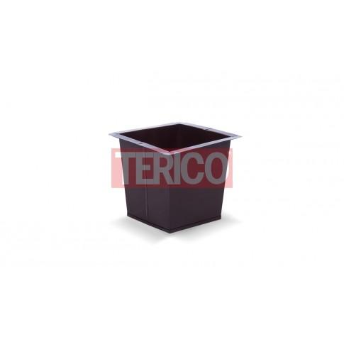 Ящик металлический окрашенный 340х340х285h