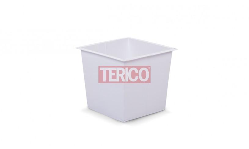Ящик металлический окрашенный 550х550х550h