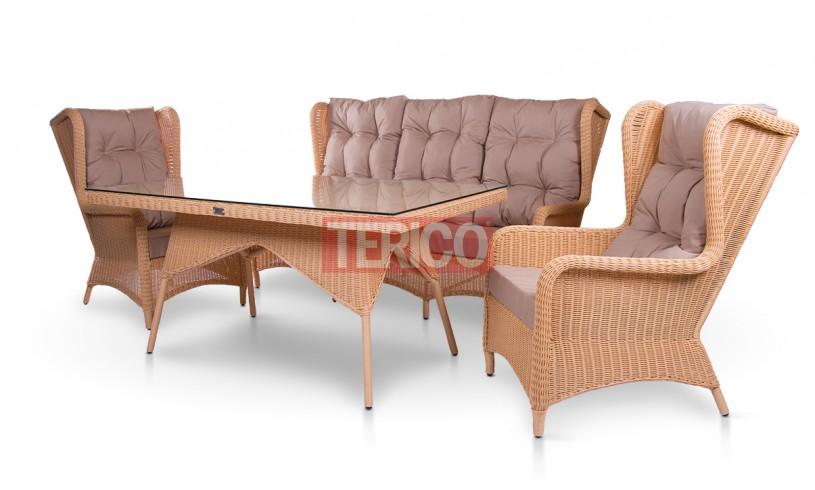 "Комплект мебели №12 ""Лондон"" стол, диван, 2 кресла"