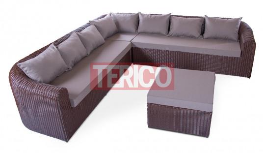"""Комплект мебели №15 """"Ампир"""" модуль угловой правый/левый, модуль нейтральный"""