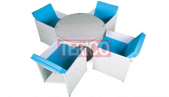 """Комплект мебели №2 """"Немо"""" стол, 4 кресла"""