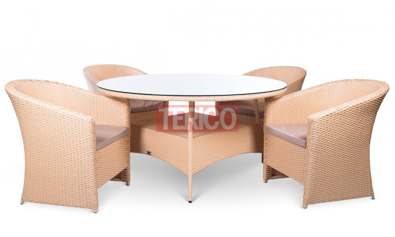 "Комплект мебели №5 ""Барселона"" стол, 4 кресла"