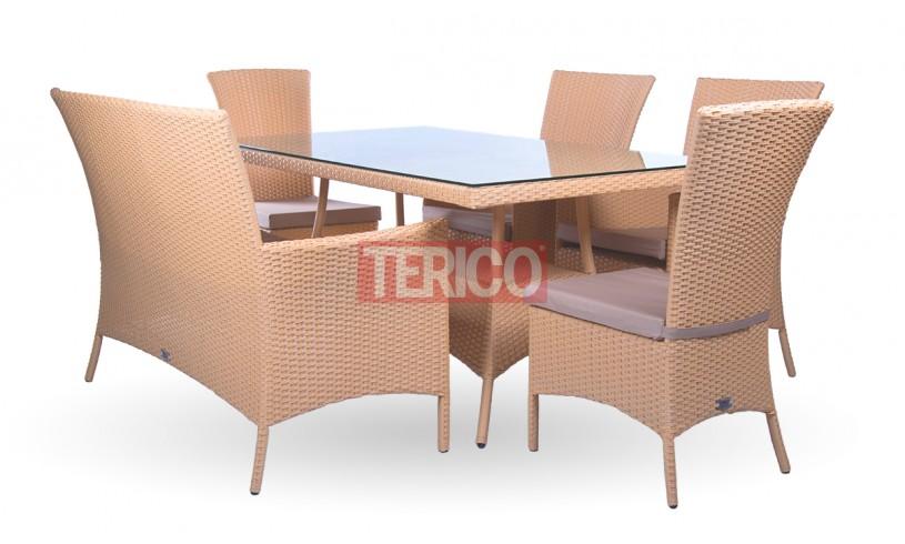 """Комплект мебели №6 """"Милано"""" стол, диван, 2 кресла, 2 стула"""