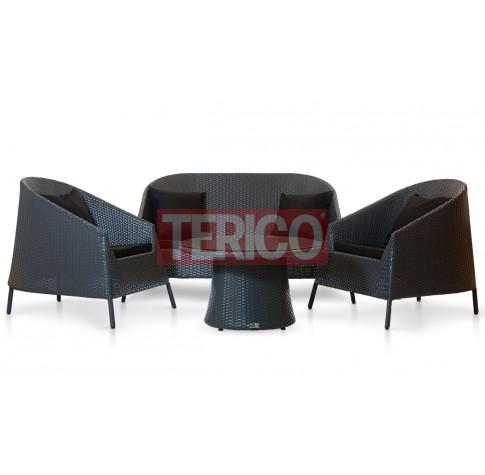 """Комплект мебели №7 """"Рикитея"""" журнальный стол, диван, 2 кресла"""