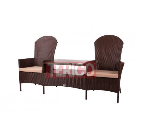 Кресло Милано Дабл (2 кресла+стол)