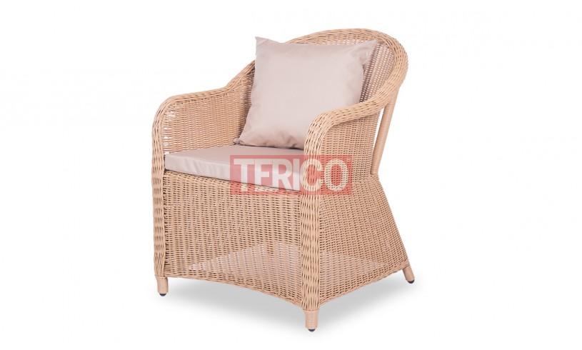 Кресло из ротанга Севилья 640х720х820h