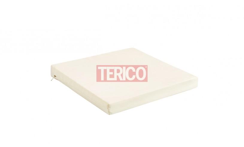 Подушка для сидения 450(360)х450х50h (полиэстер, тесьма)