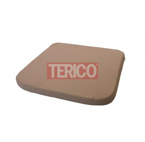 Подушка для сидения 650(560)х550х50h (полиэстер)